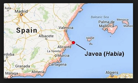 Javea Spain Map.Moving To Spain Let S Shout About It Farewell To Fire Friends